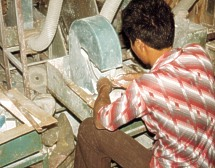 Many shells,and shellcrafts require cutting,sanding,and polishing.