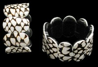 Marble Cone Stretch Bracelet - Click For Larger View