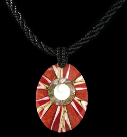 Shell Horizons - Red Coral Jewelry